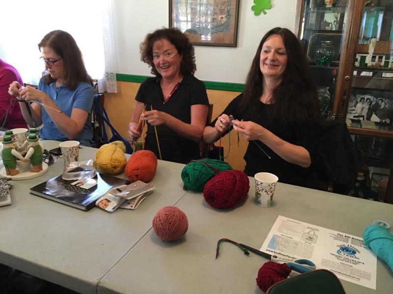 Irish Knitting Class